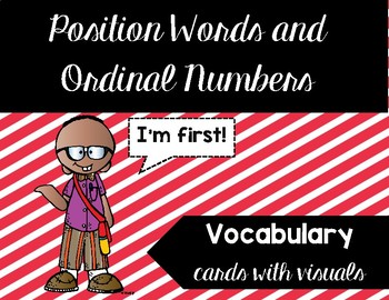 Ordinal Numbers and Position Words