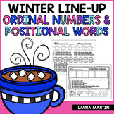 Winter Ordinal Numbers and Positional Words FREEBIE