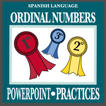 Ordinal Numbers in Spanish / Notes and Crossword (FREE)