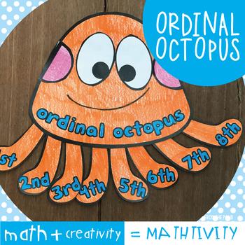 Ordinal Octopus - A Fun Craft Activity for Math