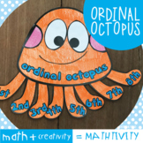 Ordinal Octopus - A Fun Craft Activity for Math