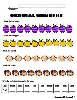 Ordinal Positions