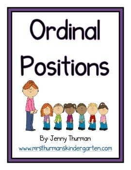 Ordinal Positions Posters