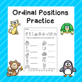 Ordinal Positions Practice