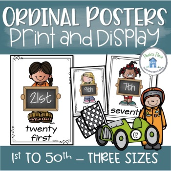 Ordinal Number Posters