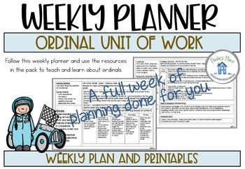 Ordinals - Racing to be First
