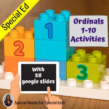 Ordinals Unit for Special Education