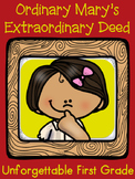 Ordinary Mary's Extraordinary Deed {Realistic Fiction Mini Unit}
