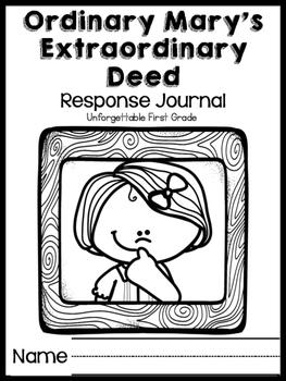 Ordinary Mary's Extraordinary Deed {Realistic Fiction Mini Unit}