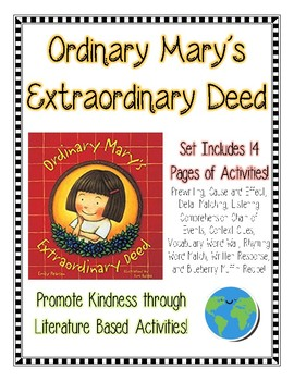 Ordinary Mary's Extraordinary Good Deed: Promote Kindness through Literature