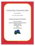 Ordinary Mary's Extraordinary Deed Literature Unit, Grades 3-5