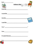 Ordinary Object Poetry Template