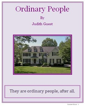 Ordinary People Complete Unit Plan