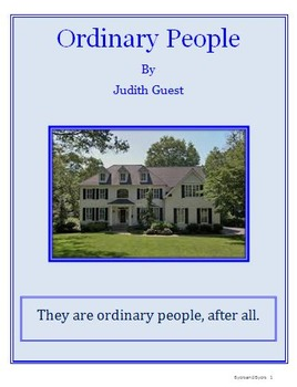 Ordinary People Daily Lesson Plans Bundle