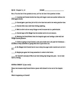 Ordinary People: Quiz ch. 11, 12