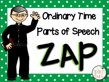 Ordinary Time Parts of Speech ZAP!
