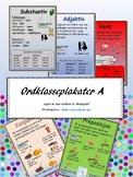 Ordklasser (plakater, bm)