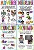 Ordklasser - plakater, stasjonskort og nøkkelringskort (BM & NN)
