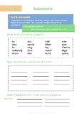Ordklassjakten - Substantiv