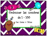 Ordonner les nombres 1-100 en ordre croissant