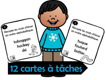 Ordre alphabétique Thème: L'hiver