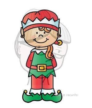 Ordre croissant et décroissant Noël, Lutine et souris avec son fromage