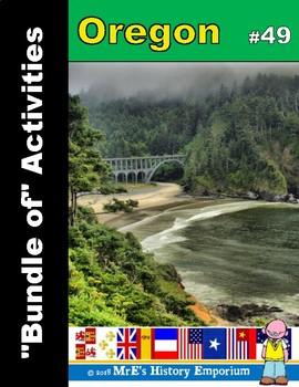 """Oregon #49 """"Bundle of Ten/More"""" Activities"""