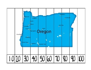 Oregon Counting Puzzle
