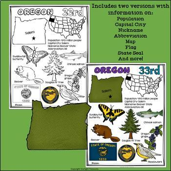 Oregon Fact Sheet