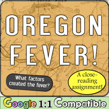 Oregon Fever!  What were the reasons for the fever?  A Clo