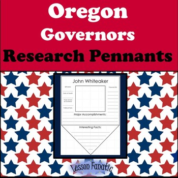 Oregon Governors Research Pennants