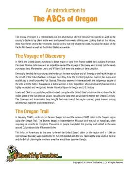 Oregon Handwriting Printables - Print Edition