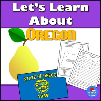 Oregon History and Symbols Unit Study