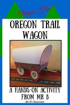 Oregon Ho! Create a 3-D Oregon Trail Wagon! Super Cool Printable Project