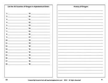 Oregon Interactive Notebook
