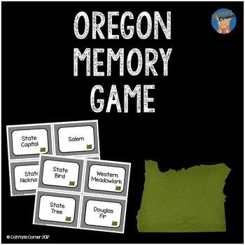 Oregon Memory Game