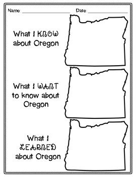 Oregon Mini-Unit Study!
