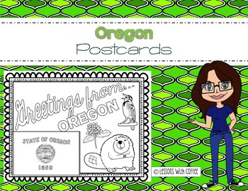 Oregon Postcard - Classroom Postcard Exchange