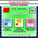 Oregon Puzzle BUNDLE - Word Search & Crossword Activities - U.S States - Google