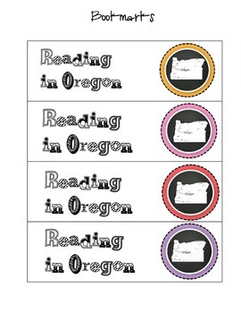 Oregon Reading Packet
