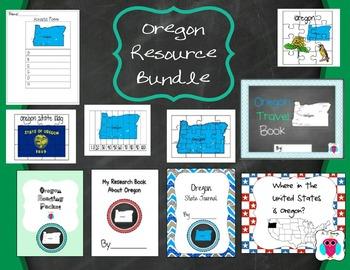 Oregon Resource Bundle- 10 Resources
