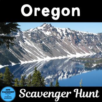 Oregon Scavenger Hunt
