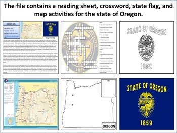 Oregon - State Activity Set