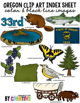 Oregon State Clip Art