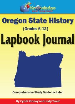 Oregon State History Lapbook Journal