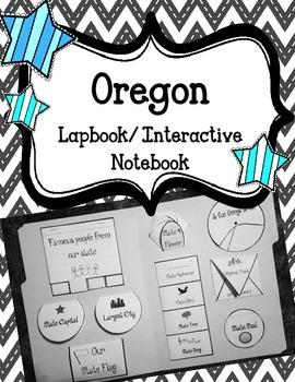Oregon State Lapbook. Interactive Notebook. US History and Geography