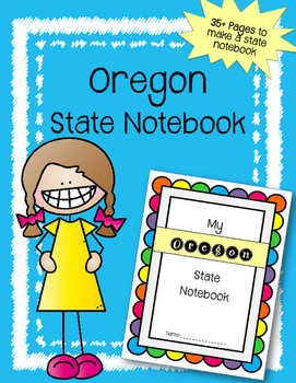 Oregon State Notebook. US History and Geography