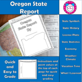 Oregon State Report