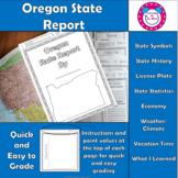 Oregon State Report