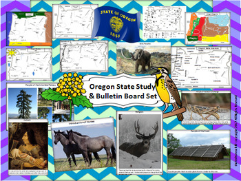 Oregon State Study & Bulletin Board Set